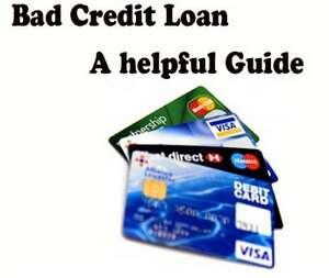 """Bad credit loans"""